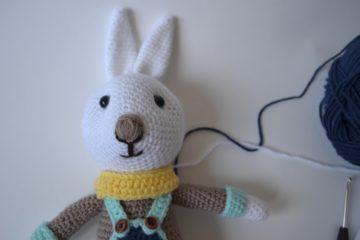 tricotin lapin DIY
