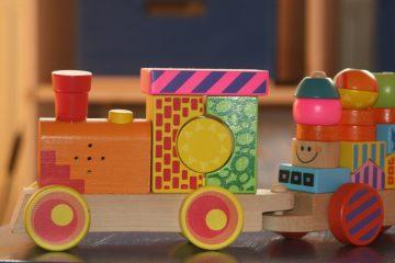 petit train en bois pour enfant